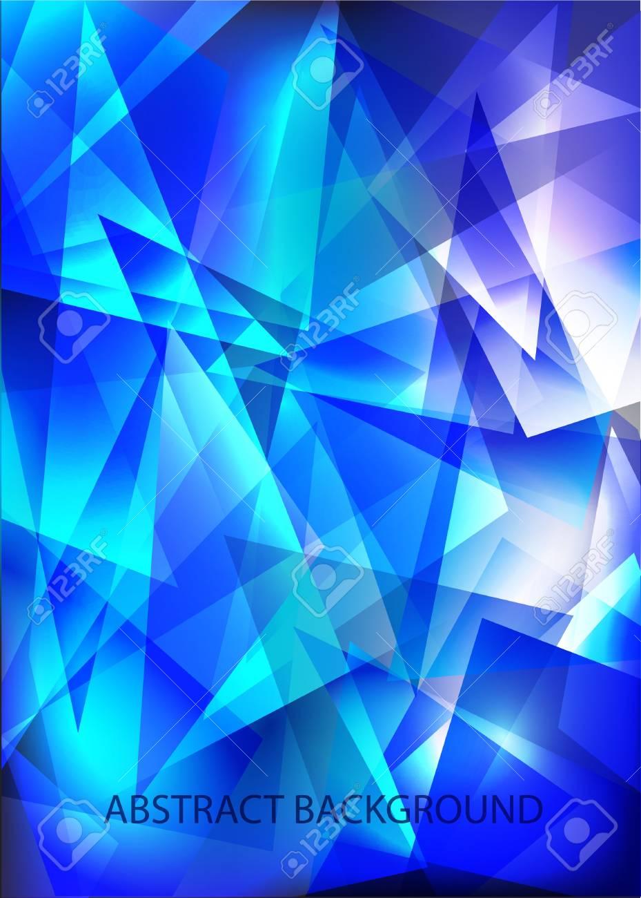Blue techno shiny background. Stock Vector - 12072110