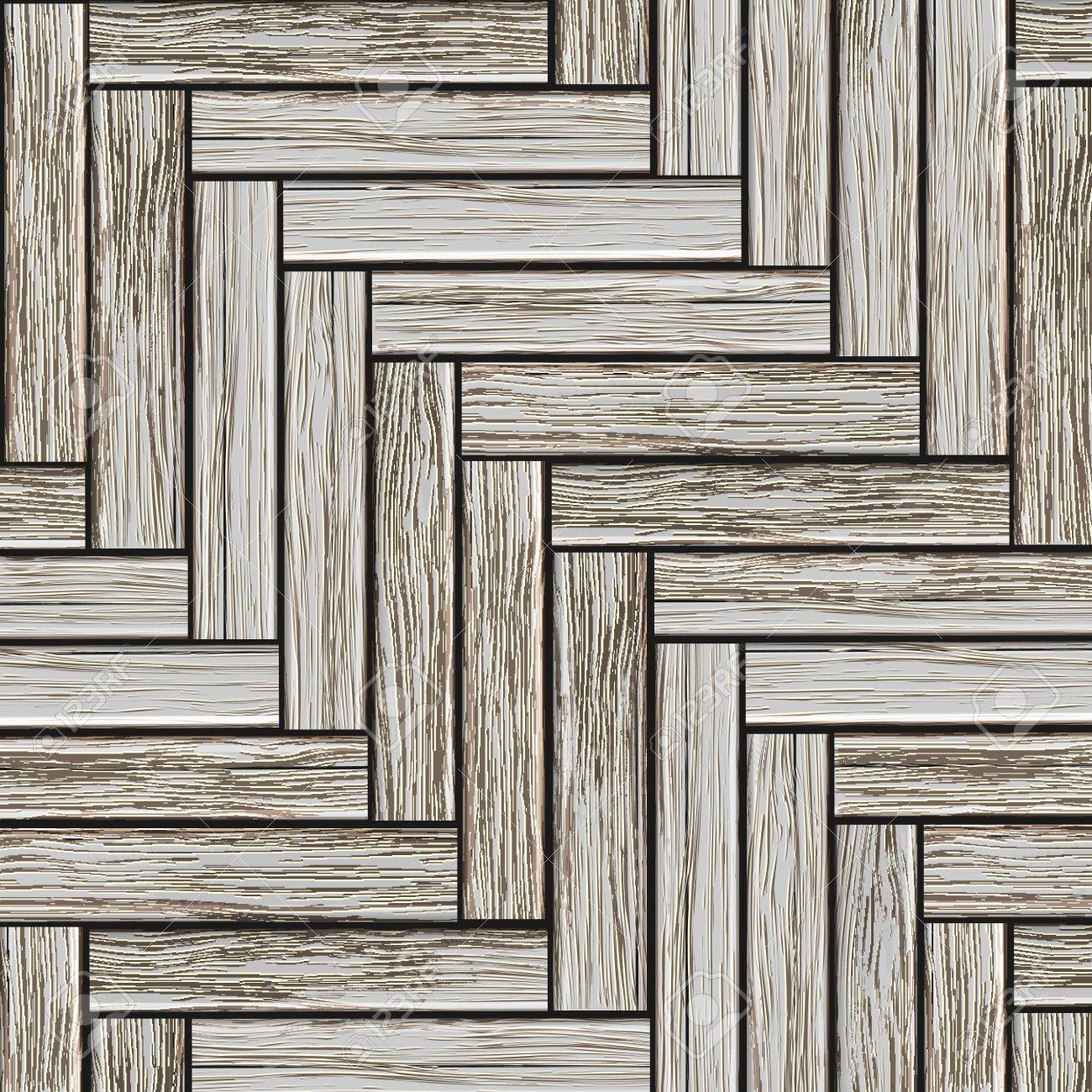 Grey wood parquet. Stock Vector - 13306243