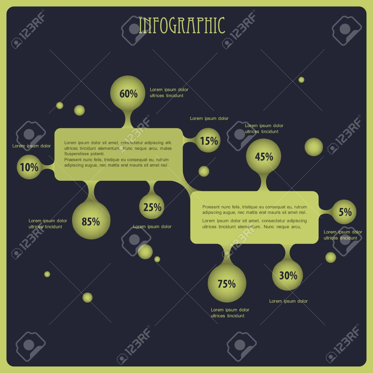 infographic background Stock Vector - 14920018