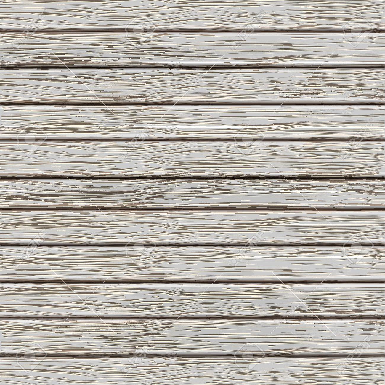 Grey old wooden texture. Vector illustration Stock Vector - 16238041