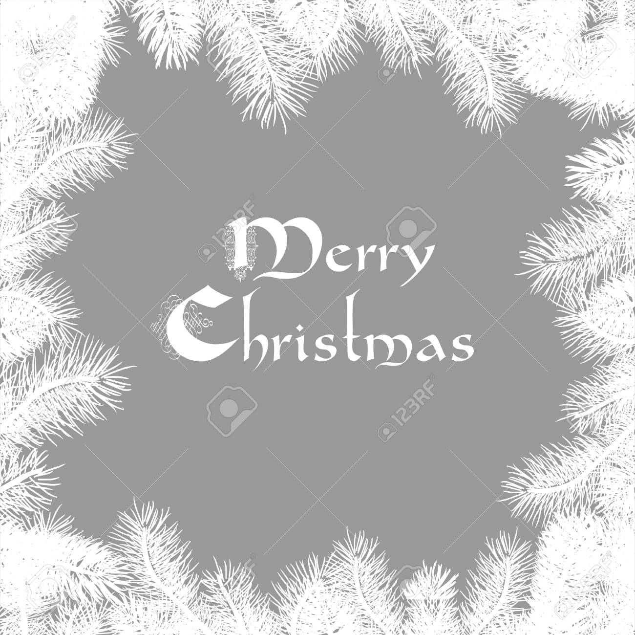 Elegant Christmas card  Illustration Stock Vector - 16852863