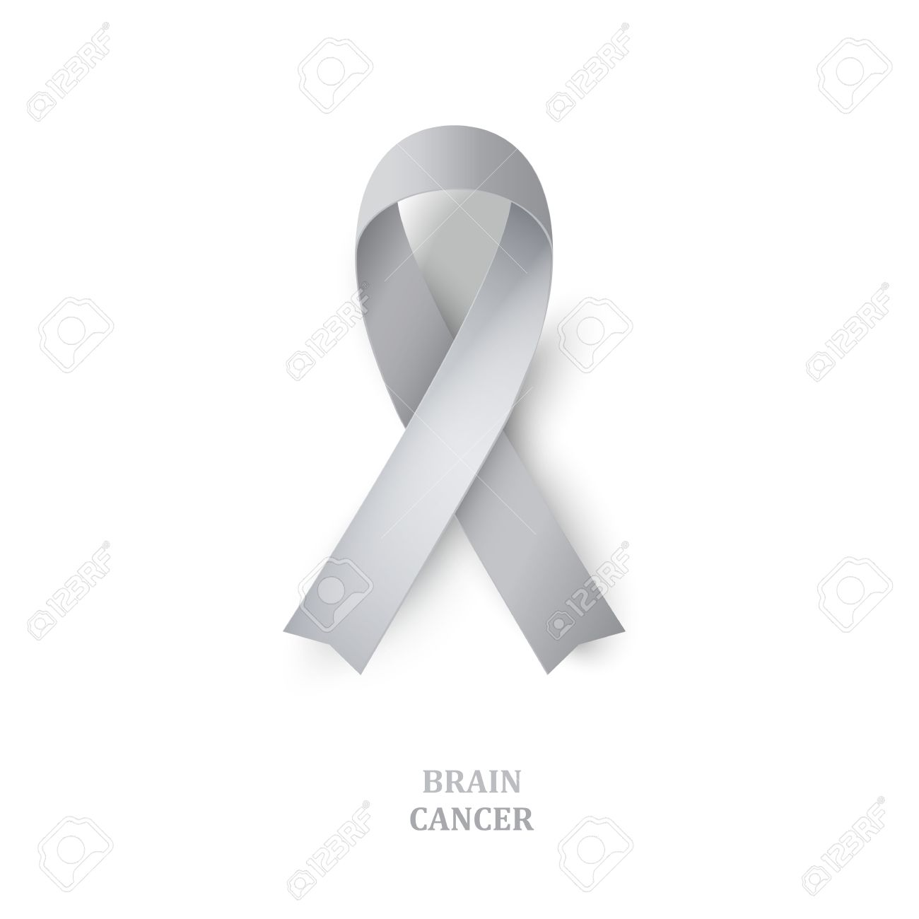 Grey awareness ribbon as symbol of brain disorders borderline grey awareness ribbon as symbol of brain disorders borderline personality disorder diabetes ovarian biocorpaavc Image collections
