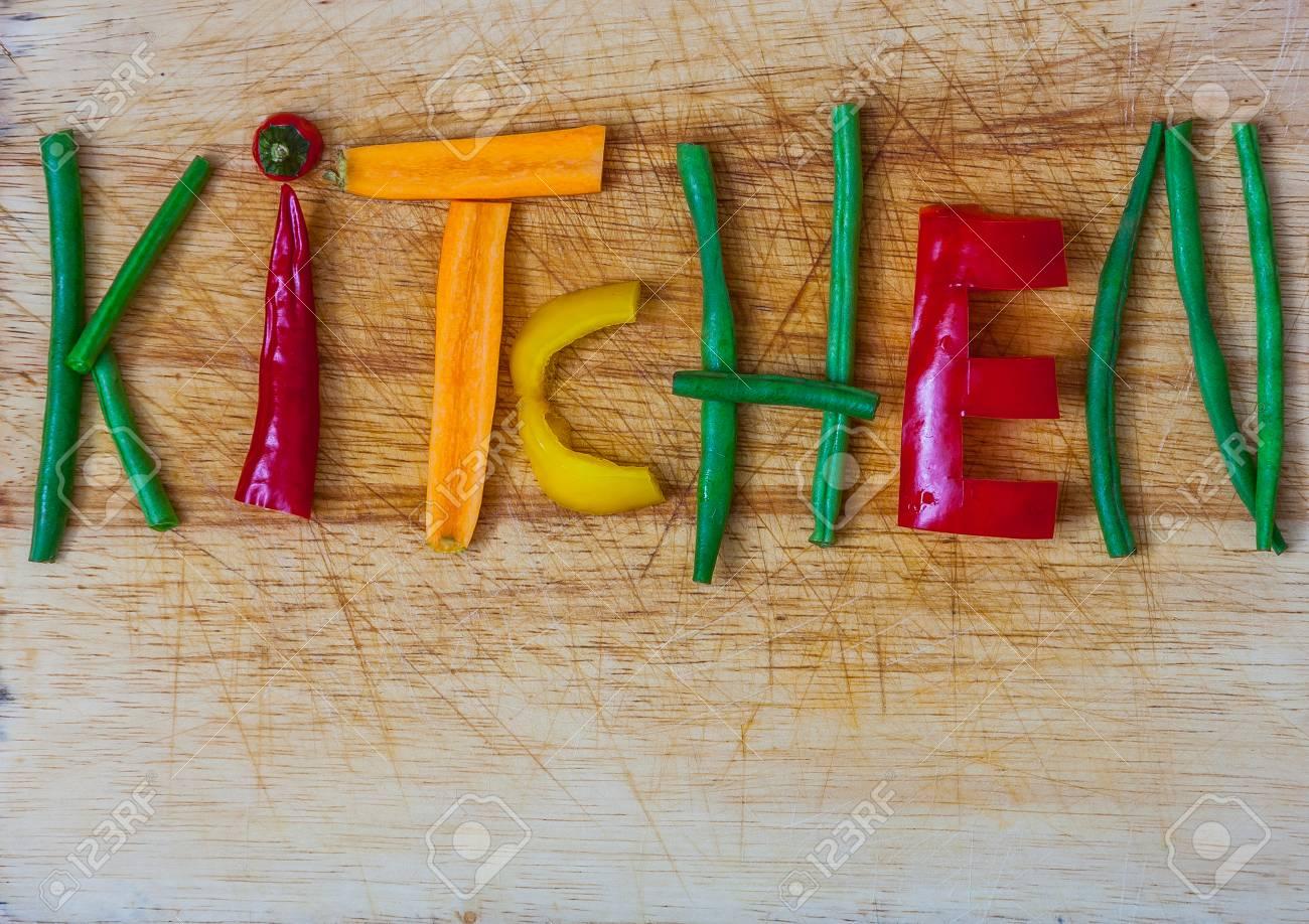 Küche Als Ein Zeichen Für Das Kochen, Küche, Köche, Essen Und ...