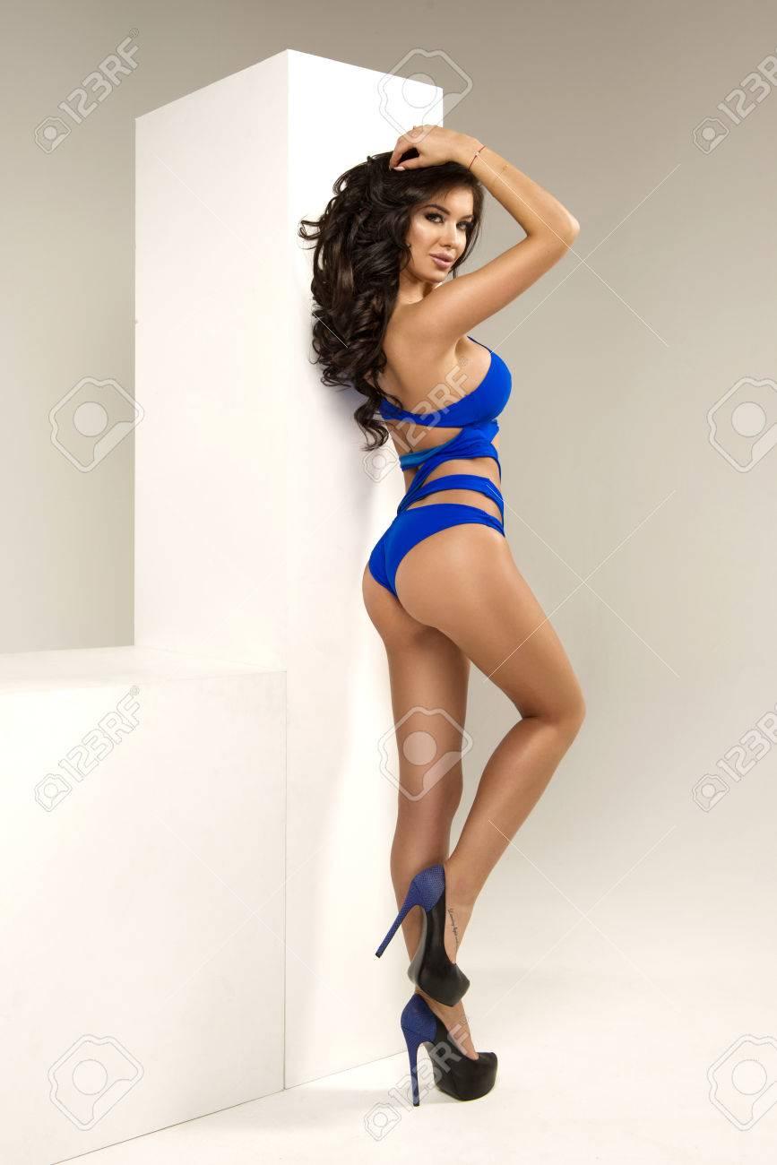 Sexy Blonde Perfect Body