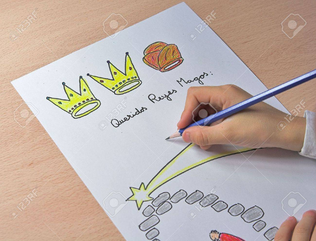 letter to the three kings Stock Photo - 635353