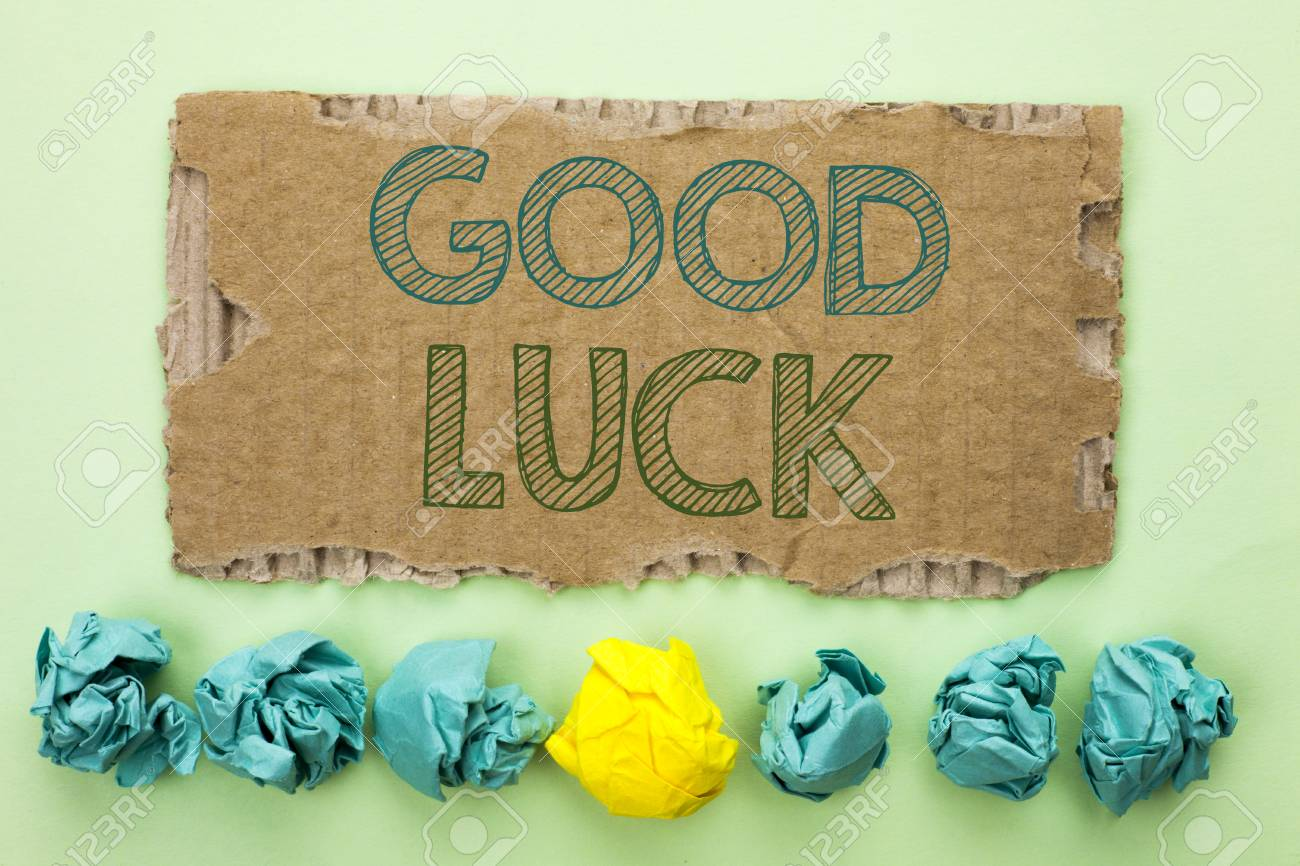 Conceptual hand writing showing good luck business photo text conceptual hand writing showing good luck business photo text lucky greeting wish fortune chance success m4hsunfo