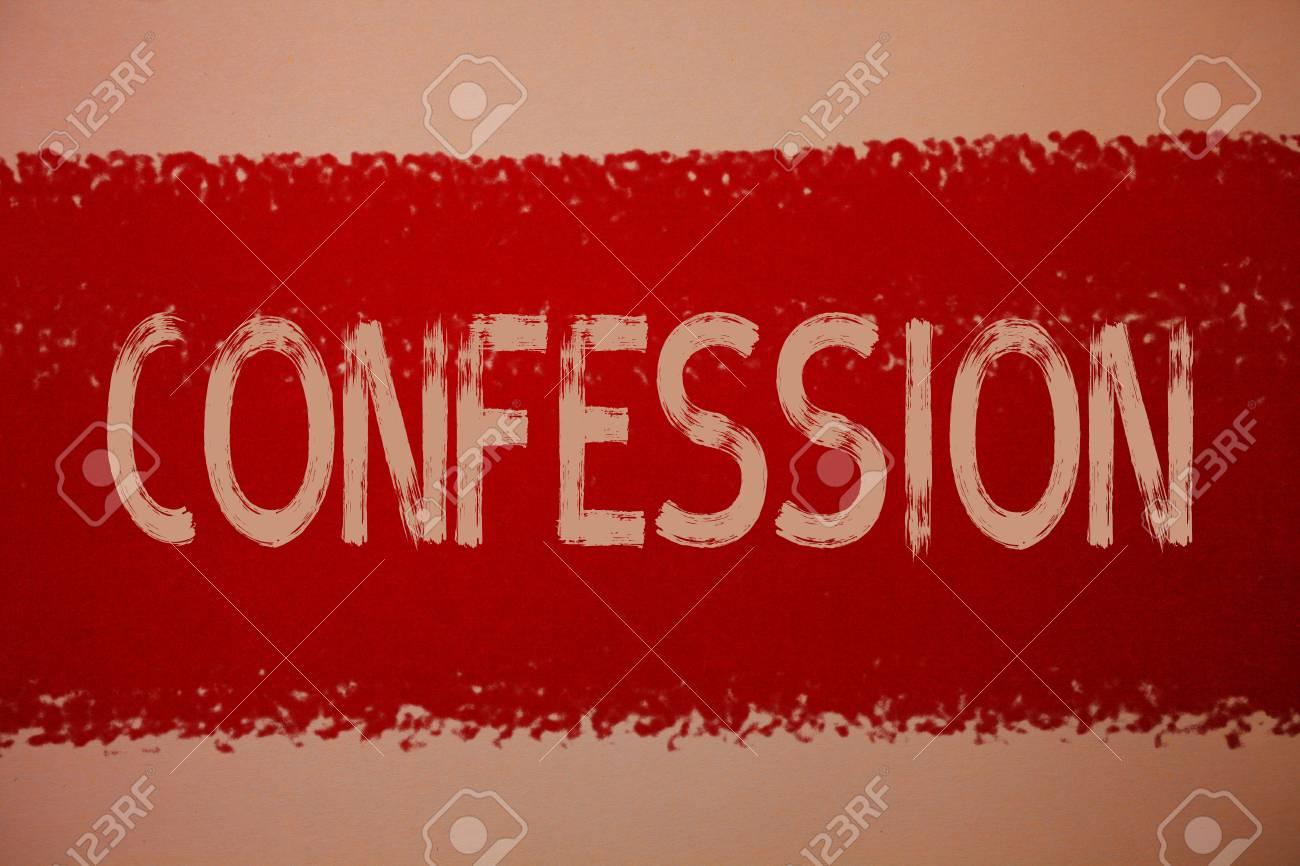 admission and confession