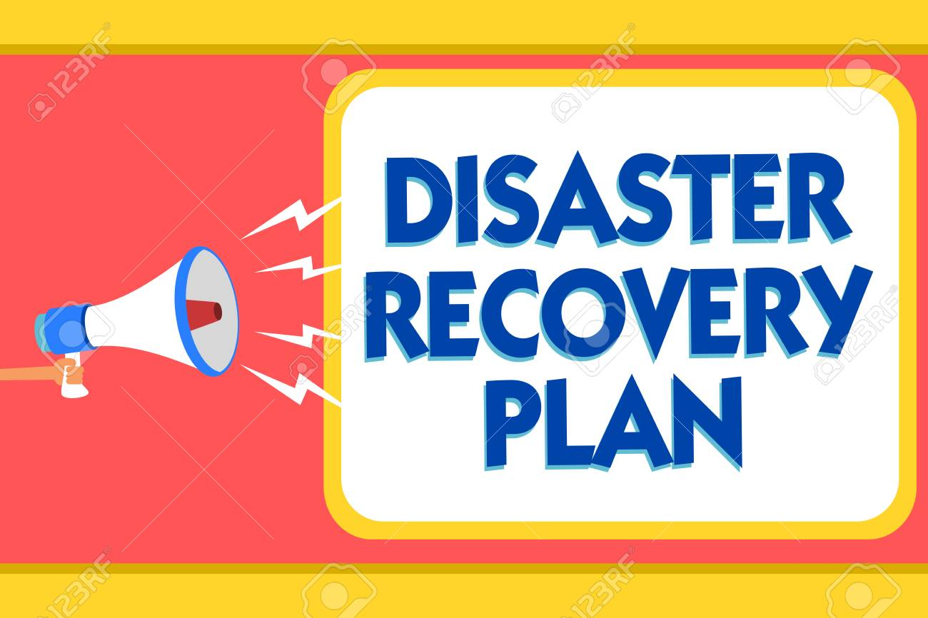 Text sign showing Disaster Recovery Plan  Conceptual photo having
