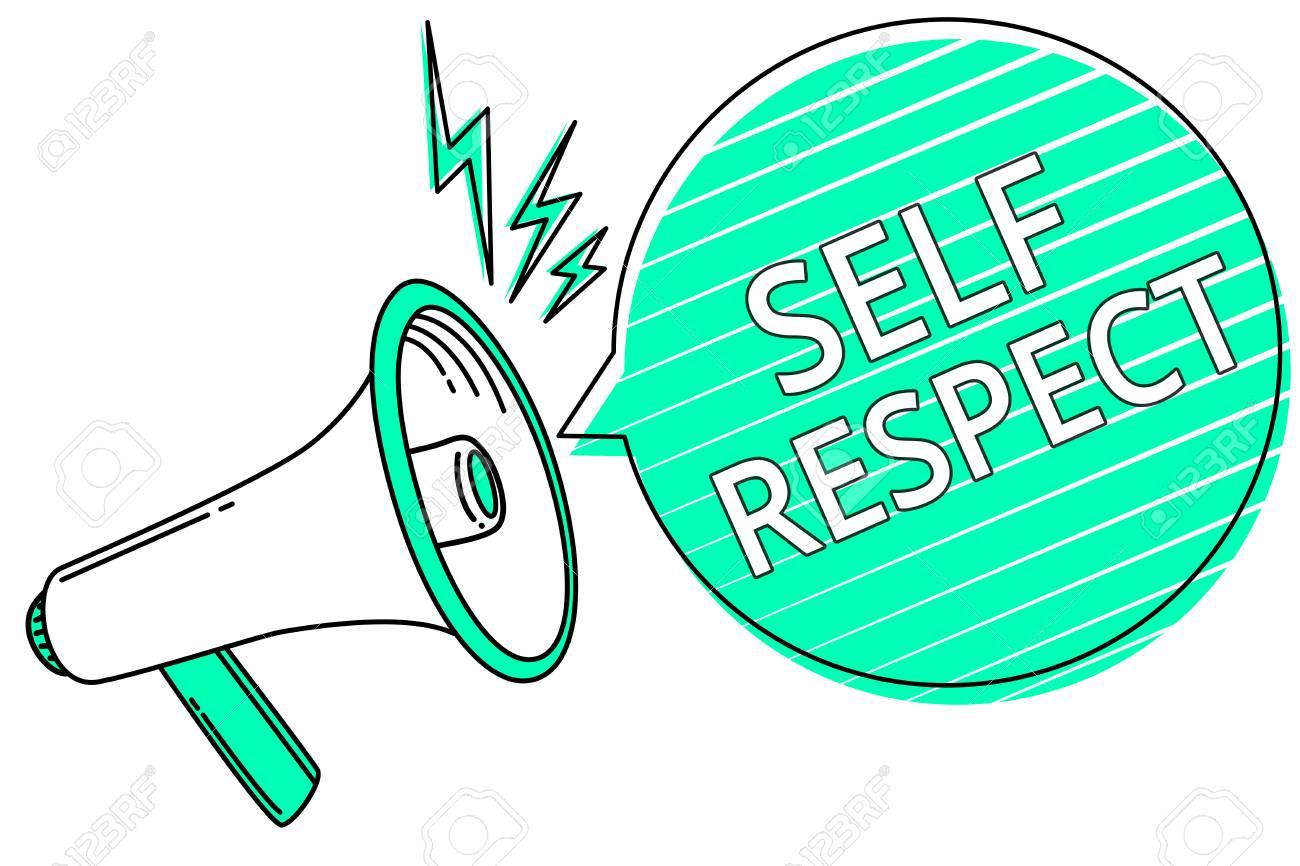 speech on self respect