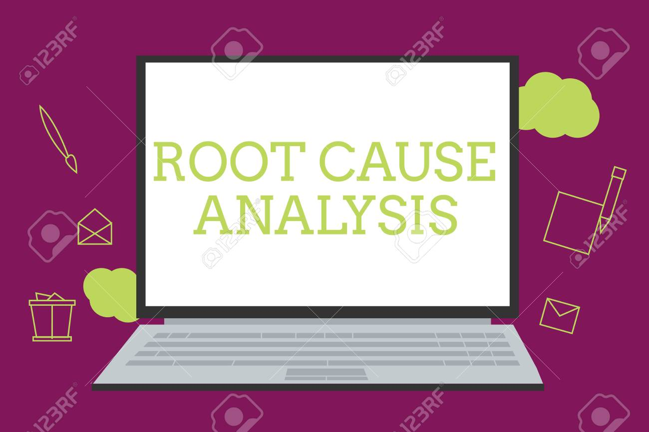 Handwriting text writing Root Cause Analysis  Concept meaning
