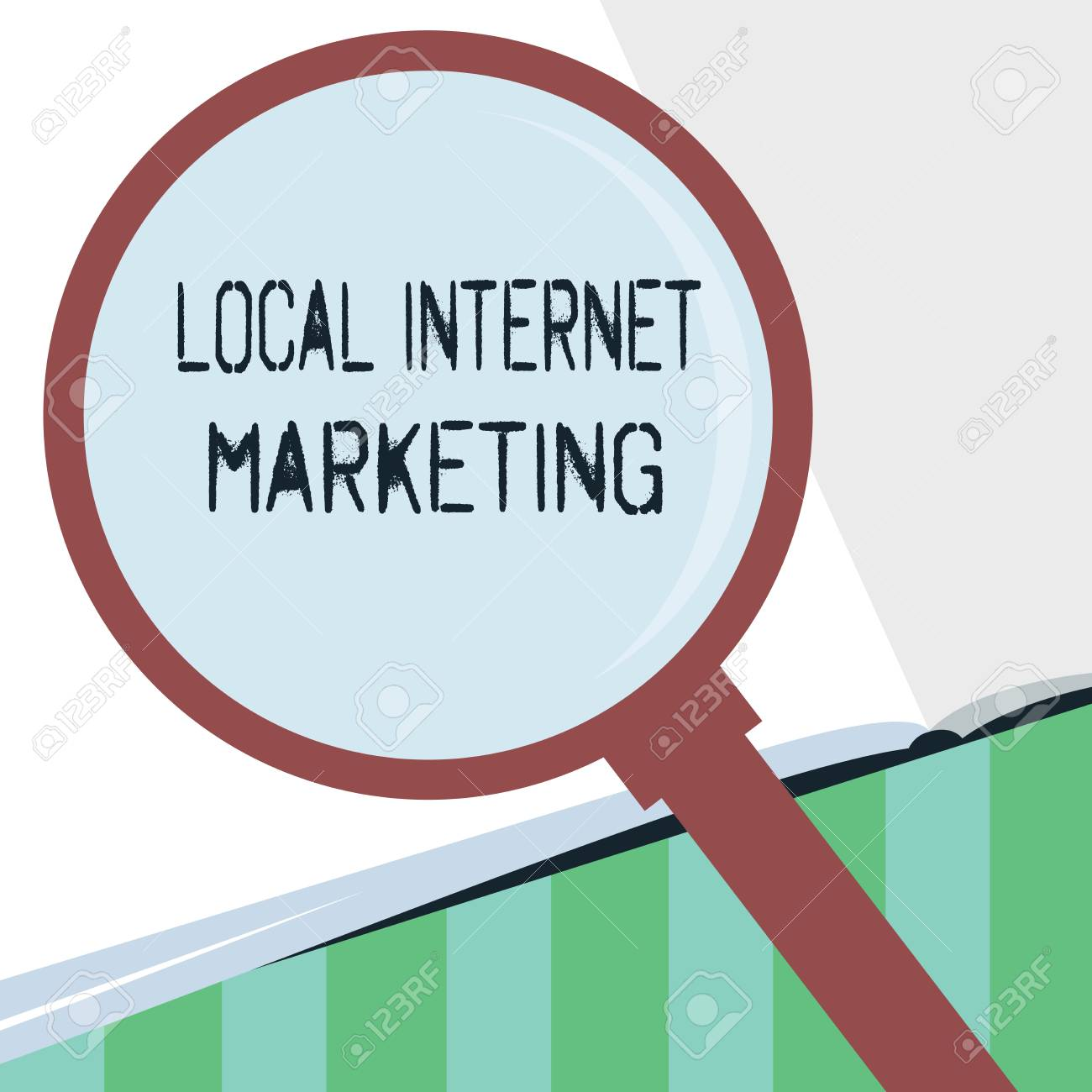 Word Writing Text Local Internet Marketing  Business Concept