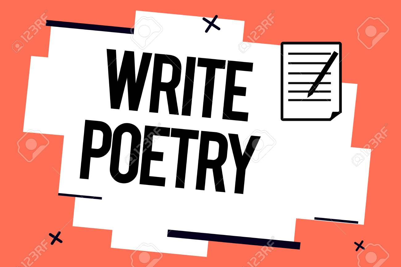 Handwriting Text Writing Write Poetry Concept Meaning Writing