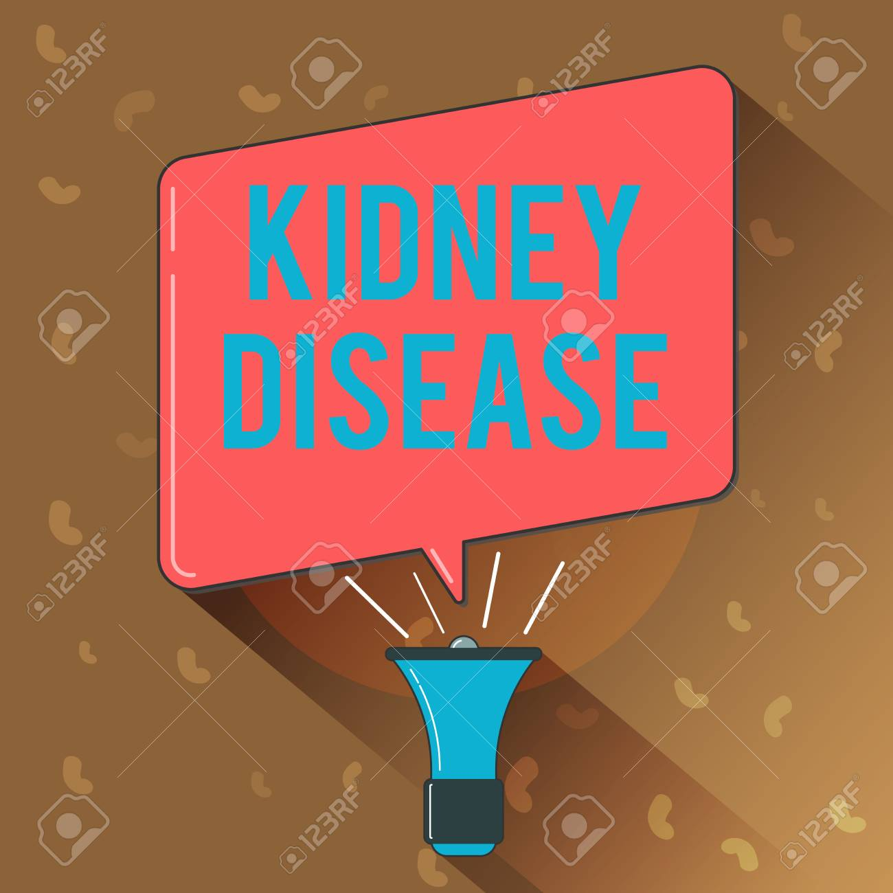 Conceptual hand writing showing Kidney Disease  Business photo