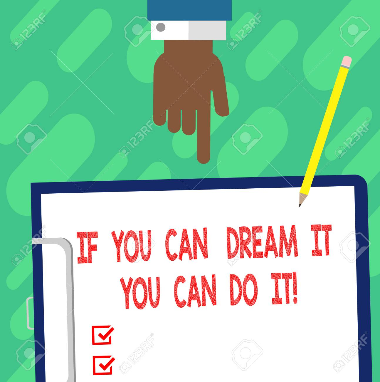 Handwriting Text Writing If You Can Dream It You Can Do It ...