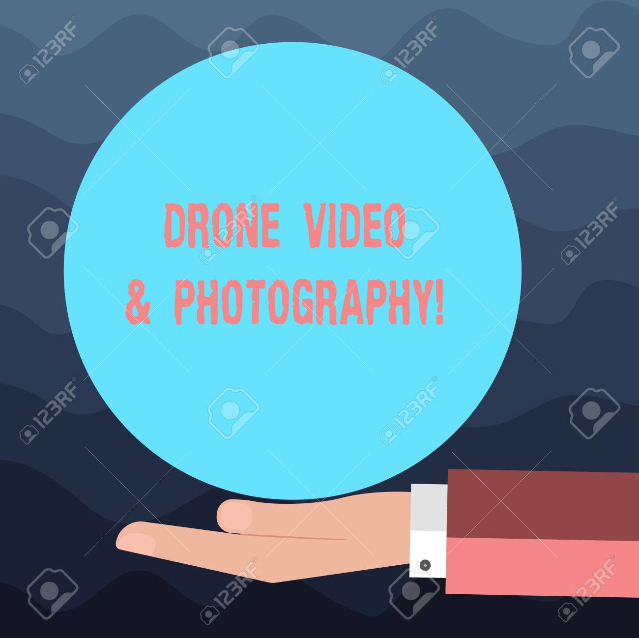 Writing note showing Drone Video And Photography  Business photo