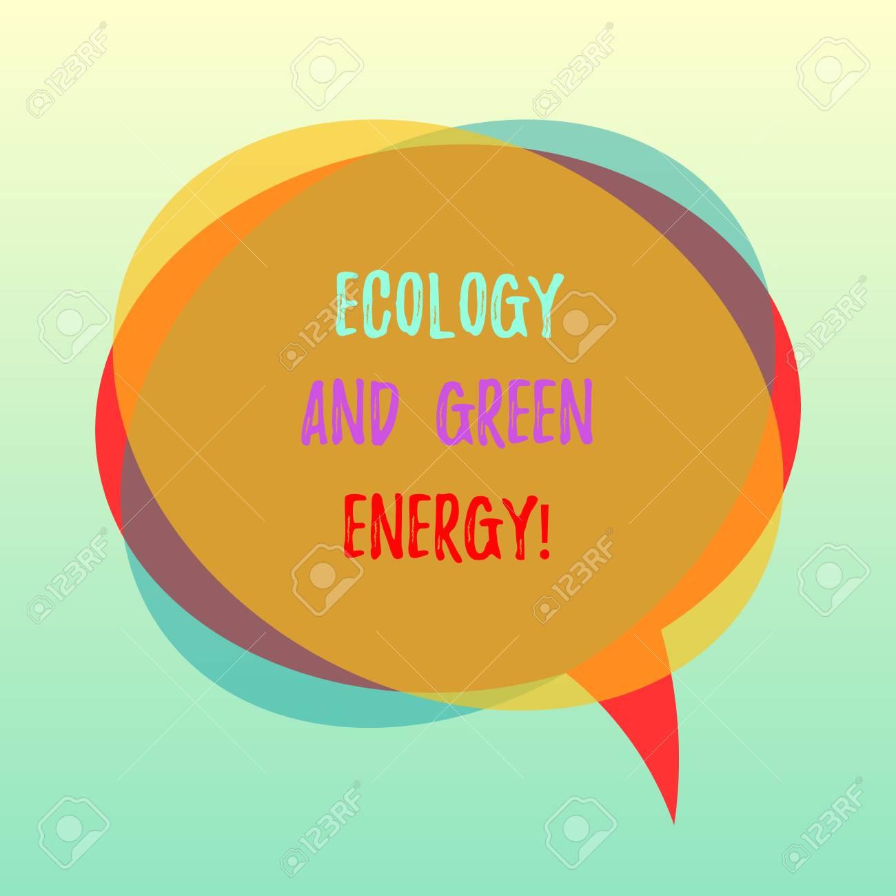 alternative energy speech