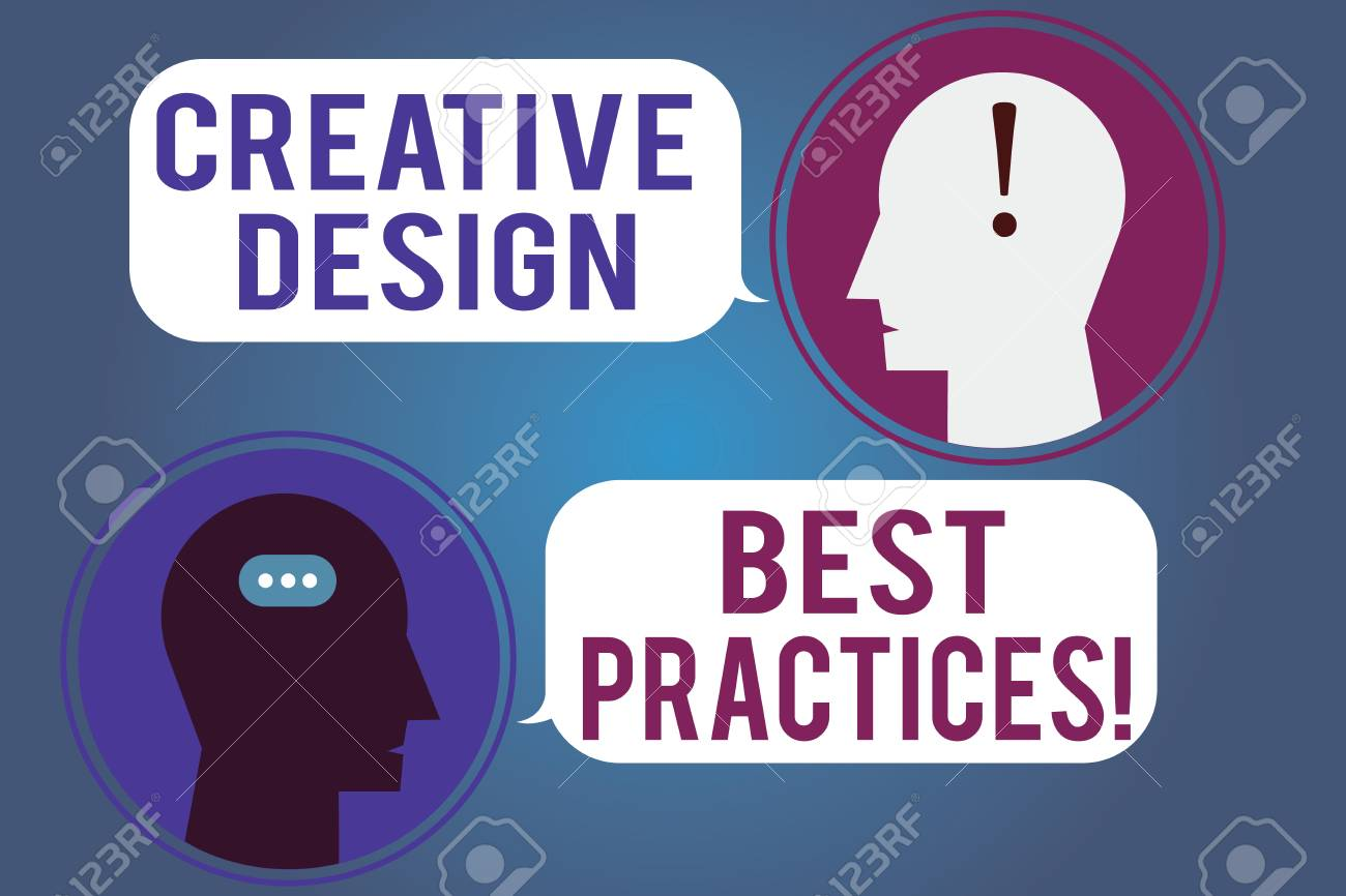Word Writing Text Creative Design Best Practices Business Concept For High Creativity Good Perforanalysisce Ideas Messenger Room With Chat Heads