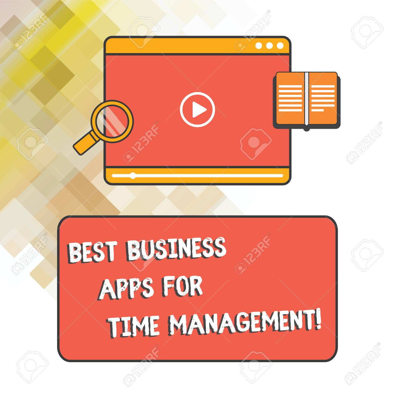 Word writing text Best Business Apps For Time Management  Business