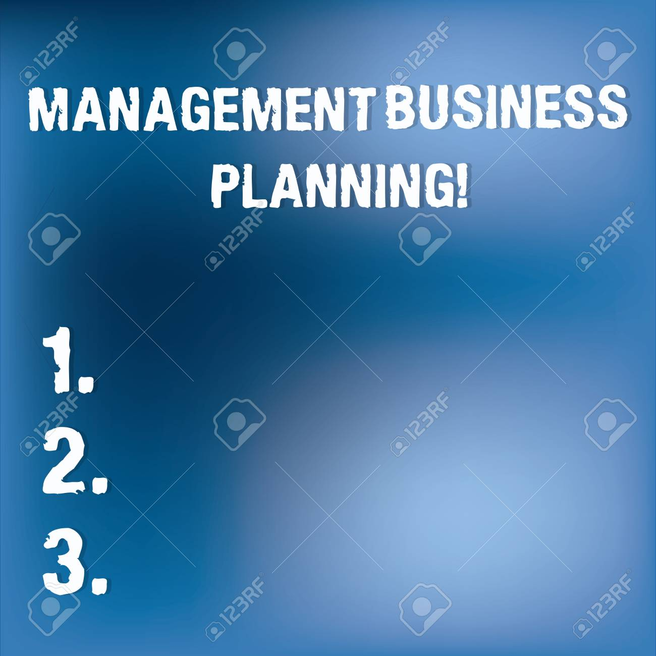 Text Sign Showing Management Business Planning Conceptual Photo Focusing On Steps To Make Business Succeed Blurry Light Flashing Glaring On Blank