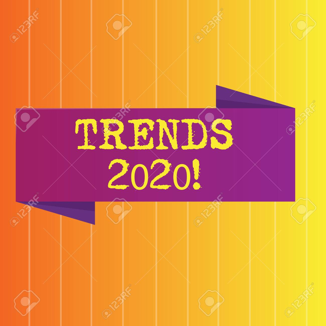 Music Trends 2020.Handwriting Text Trends 2020 Conceptual Photo General Direction