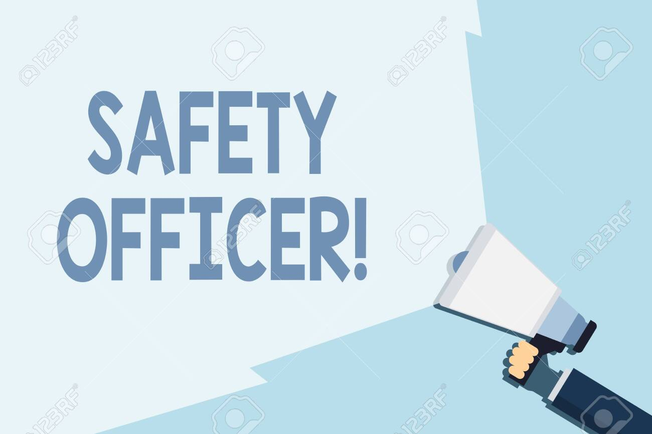 Image result for Safety Officer writing