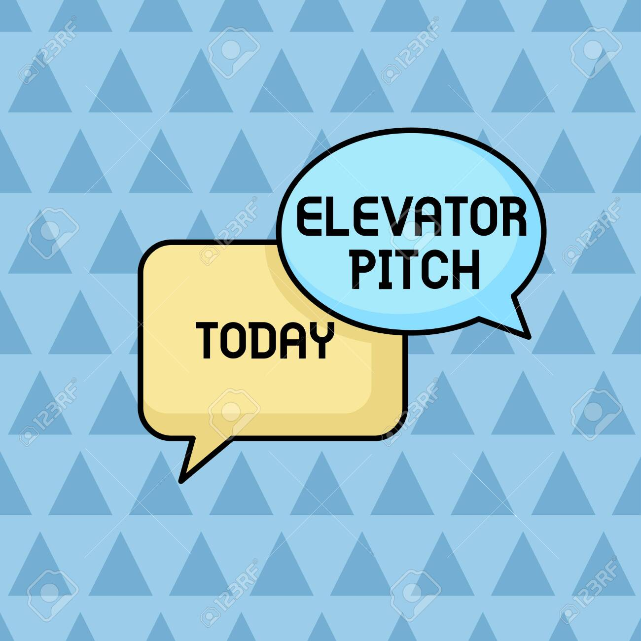 Text sign showing Elevator Pitch  Business photo showcasing A