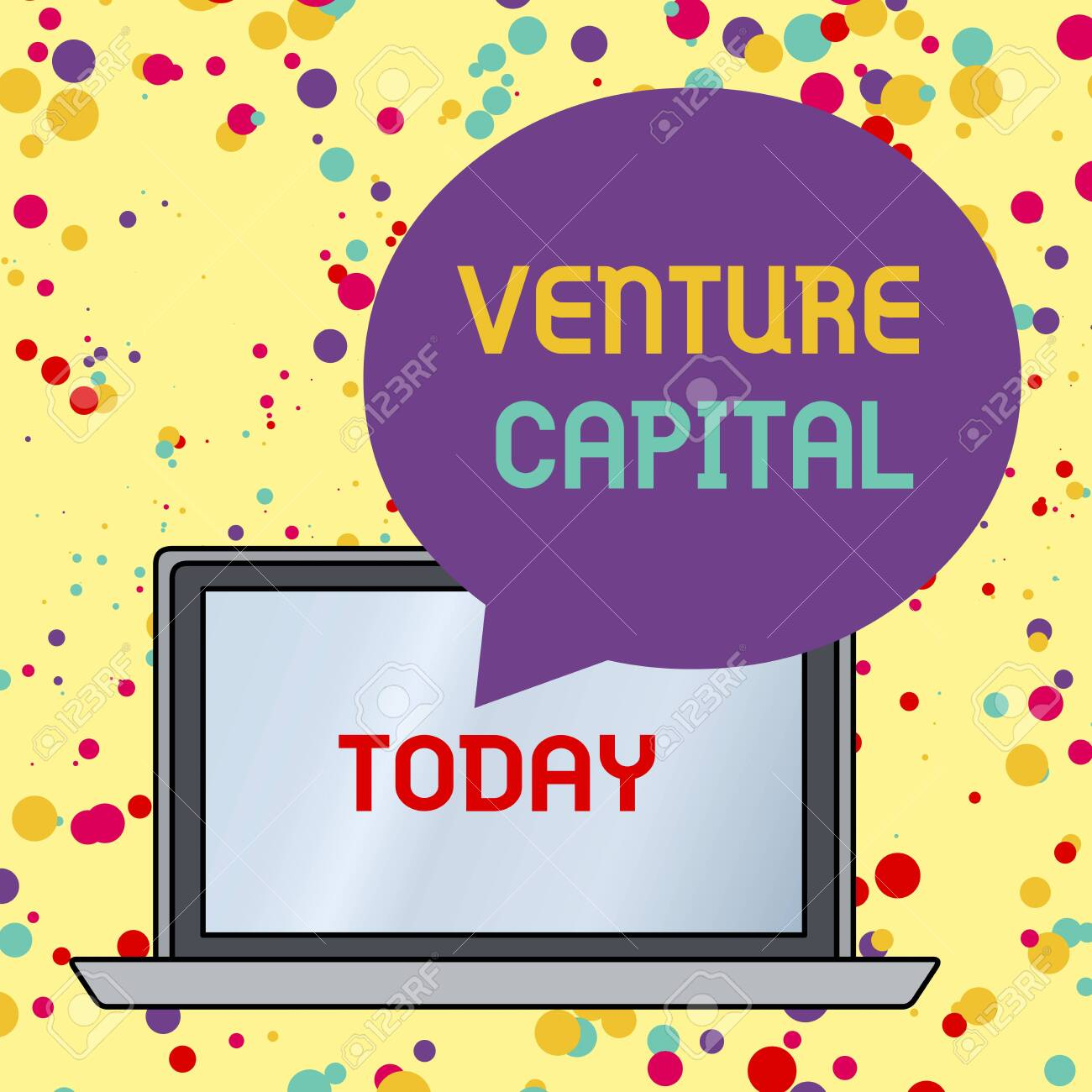 Text sign showing Venture Capital  Business photo text financing
