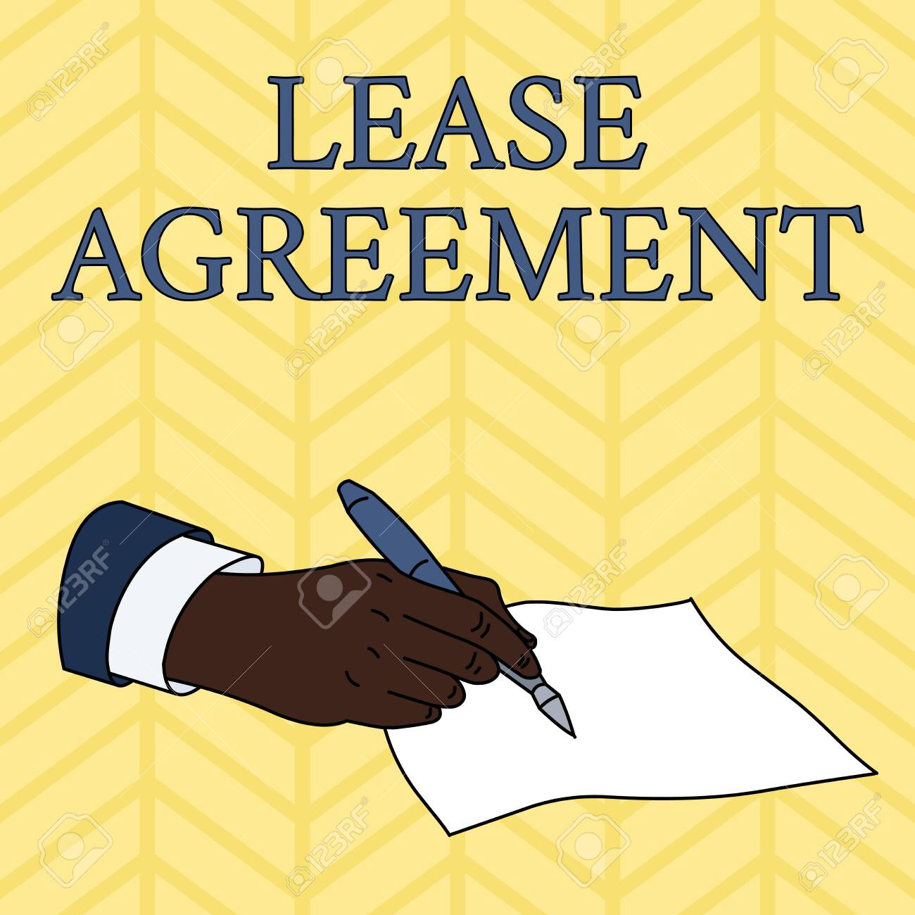 Word Writing Text Lease Agreement Business Photo Showcasing