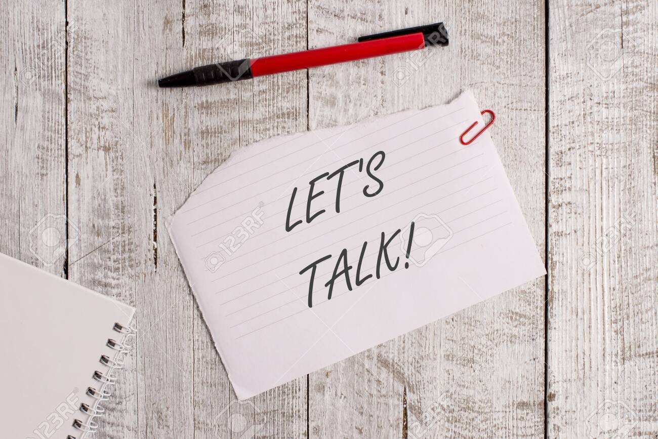 12 Word writing text Let S Is Talk. Business photo showcasing suggesting..