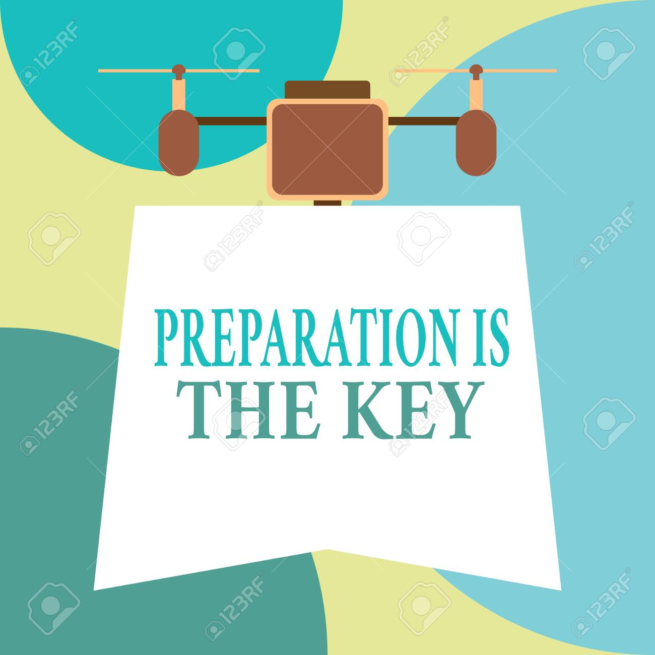Conceptual Hand Writing Showing Preparation Is The Key Concept