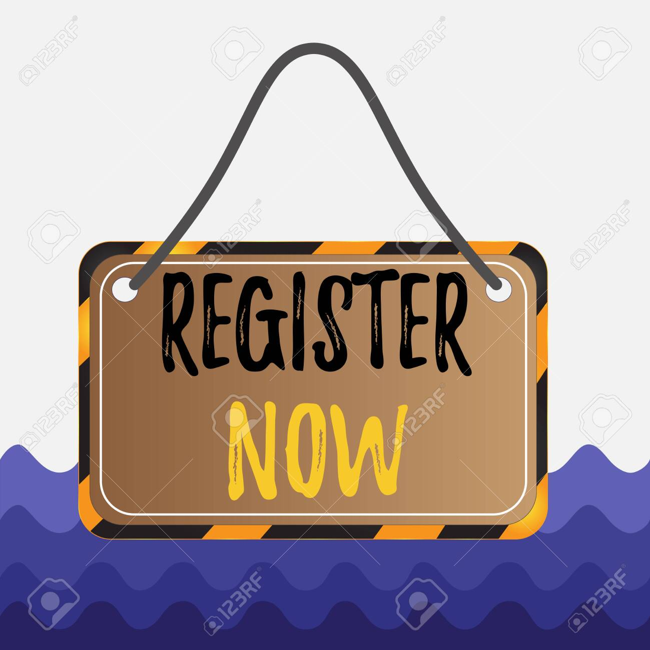 Conceptual Hand Writing Showing Register Now Concept Meaning