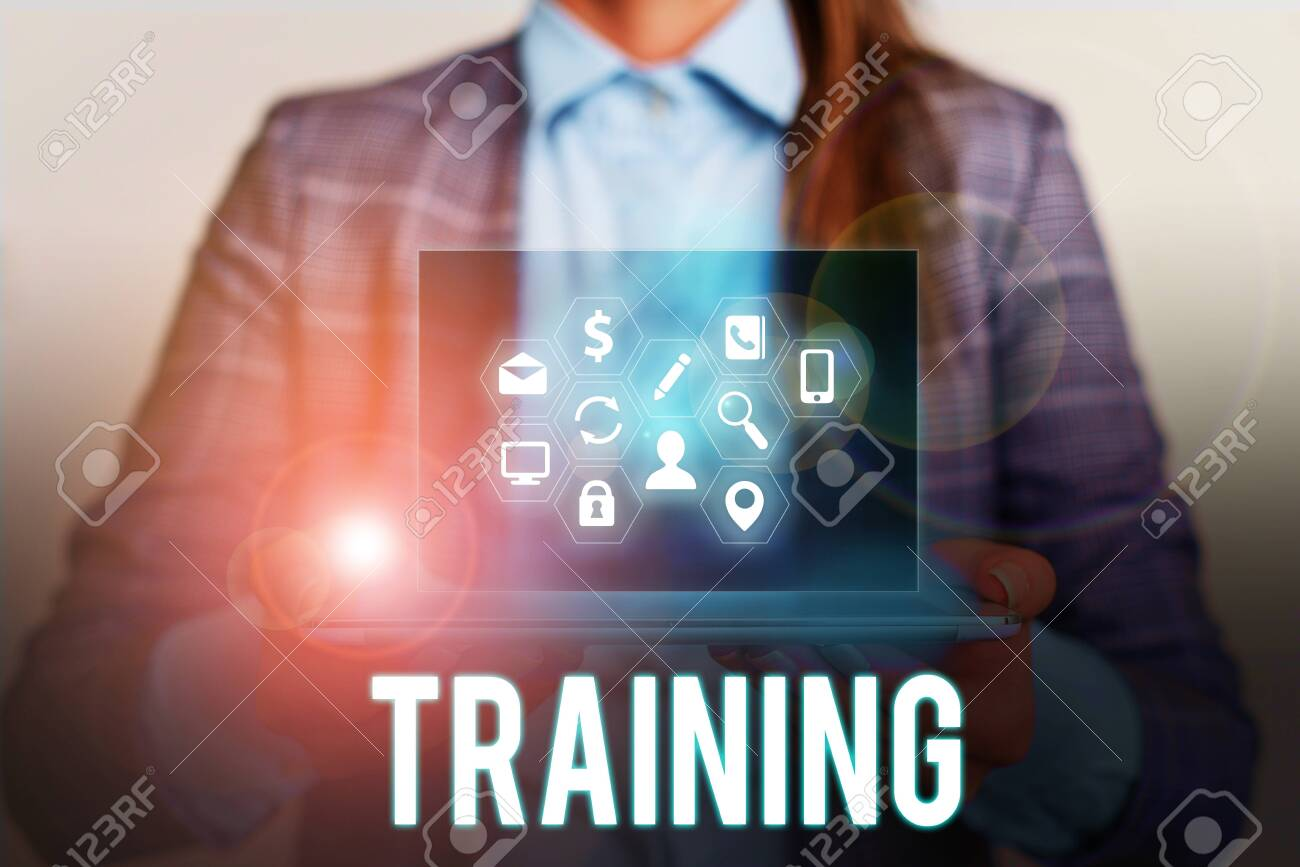 Conceptual Hand Writing Showing Training Concept Meaning An Stock Photo Picture And Royalty Free Image Image 130600591
