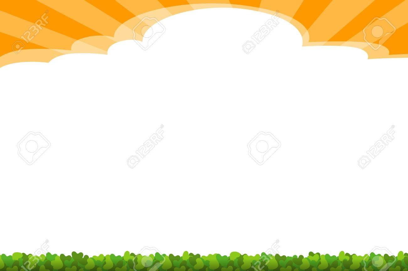 background - sunny Stock Photo - 14744205