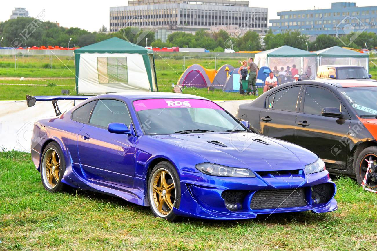 Moscow Russia July 6 Japanese Sports Car Nissan Silvia Exhibited Stock Photo Picture And Royalty Free Image Image 25476148