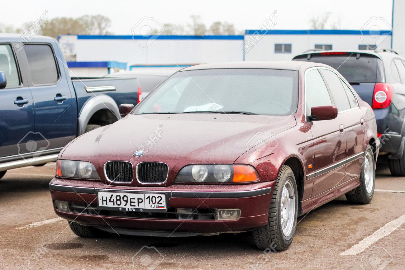 UFA, RUSSIA - APRIL 19, 2012: Motor Car BMW E39 5-series At The ...