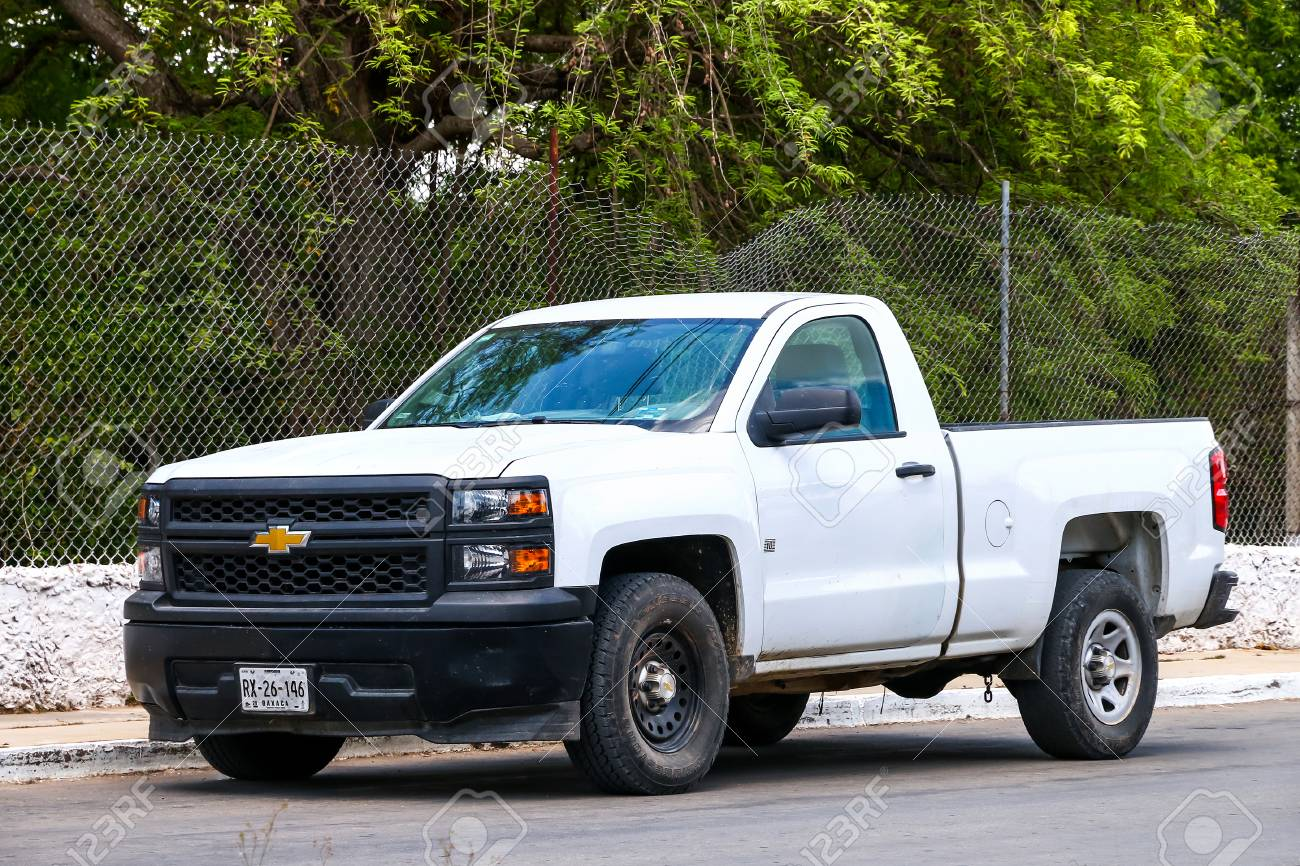 Campeche Mexico May 20 2017 Pickup Truck Chevrolet Cheyenne