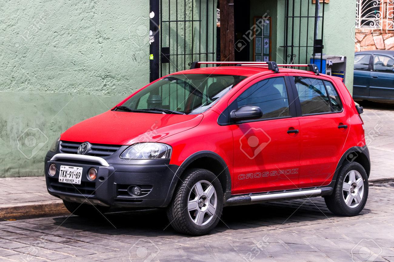 Oaxaca Mexico May 25 2017 Motor Car Volkswagen Crossfox Stock