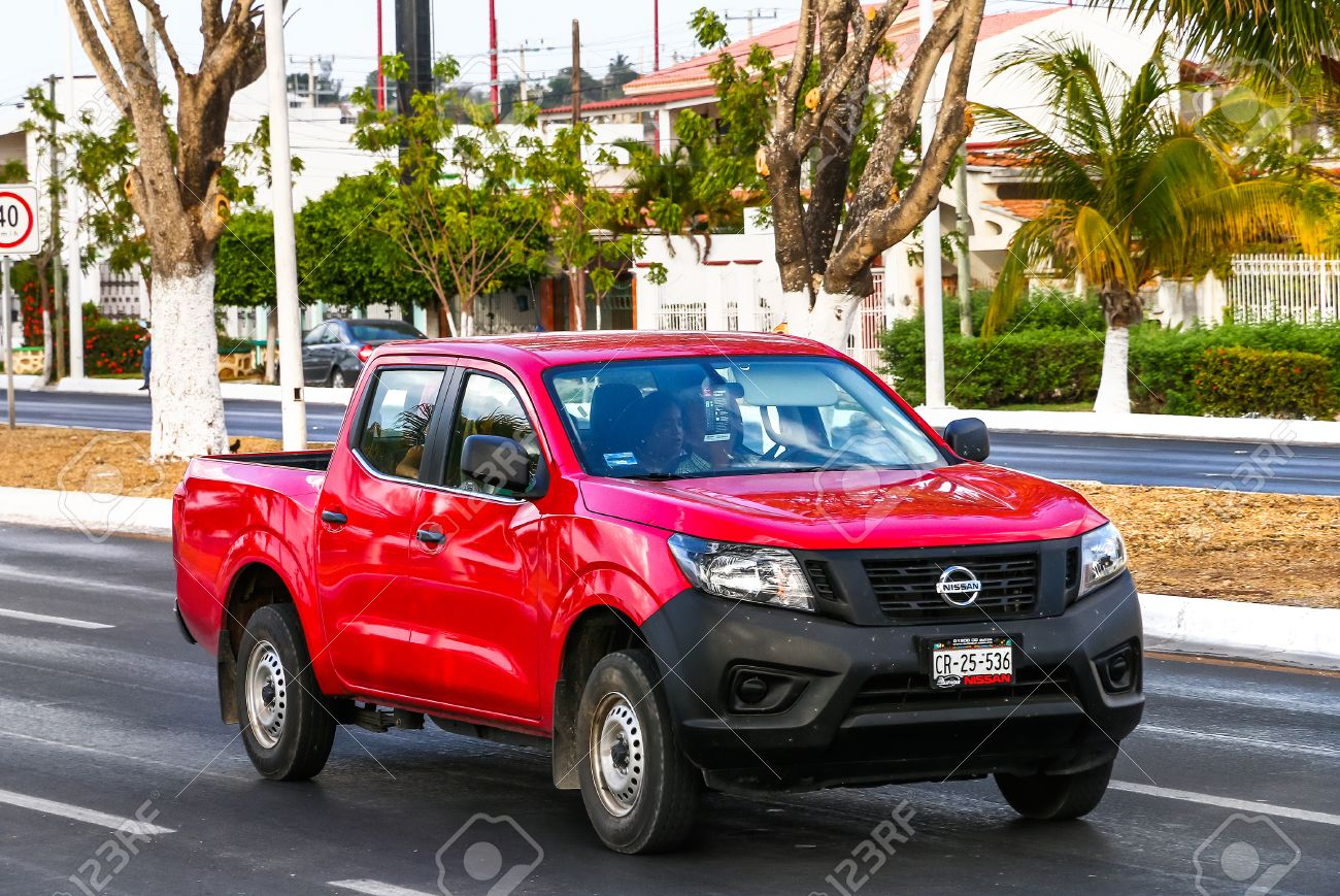 Campeche Mexiko 20 Mai 2017 Pick Up Nissan Navara In Der