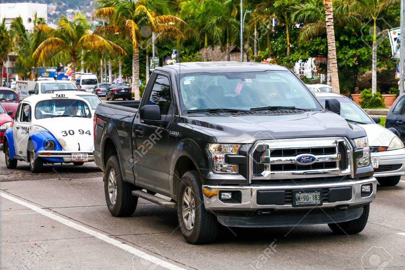 Acapulco mexico may 30 2017 pickup truck ford lobo in the city