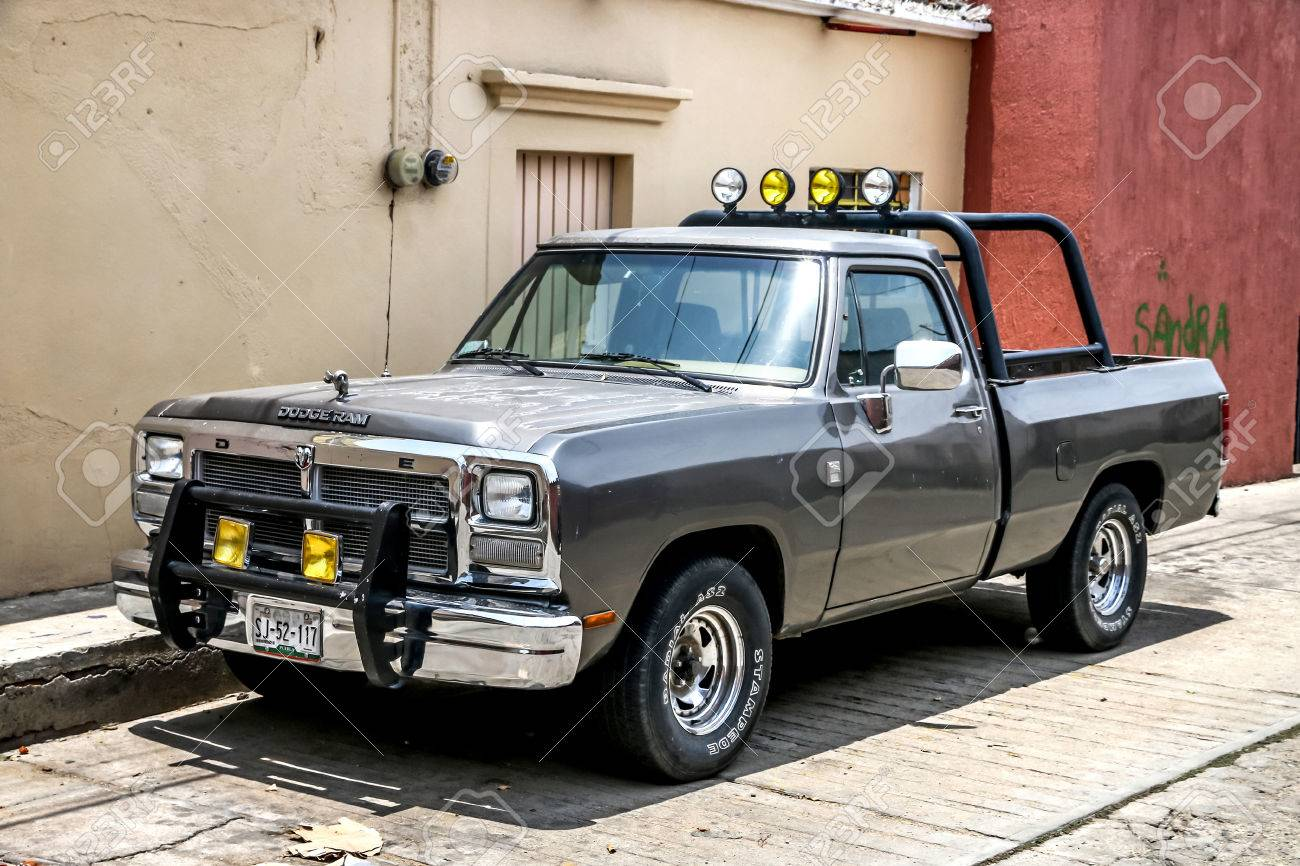 Oaxaca Mexico May 25 2017 Pickup Truck Dodge Ram In The Stock Photo Picture And Royalty Free Image Image 81824682
