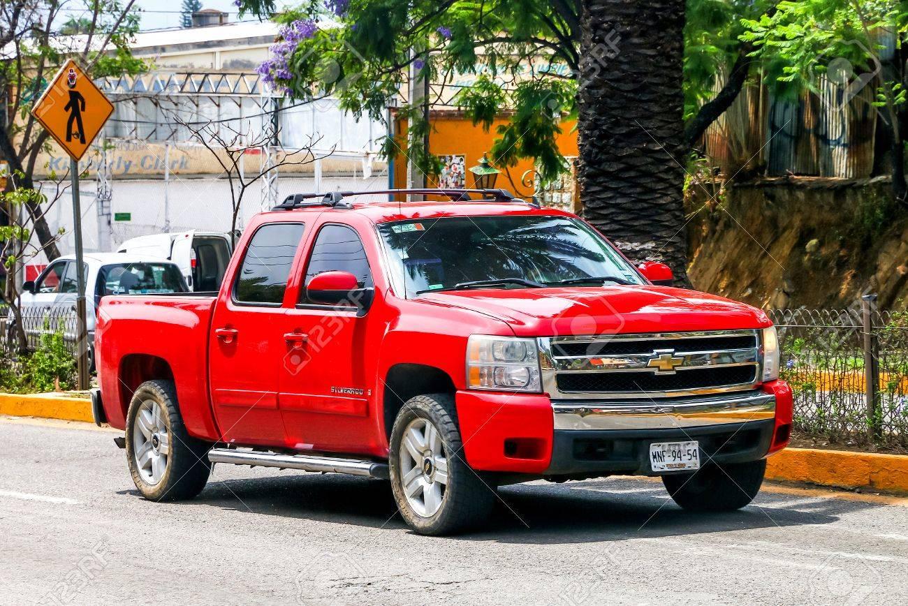 Oaxaca Mexiko 25 Mai 2017 Pick Up Chevrolet Silverado In Der