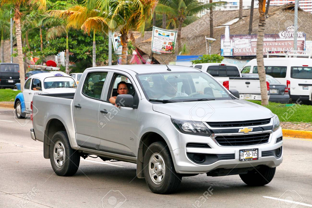 2017 Chevy S10 >> Acapulco Mexico May 30 2017 Grey Pickup Truck Chevrolet