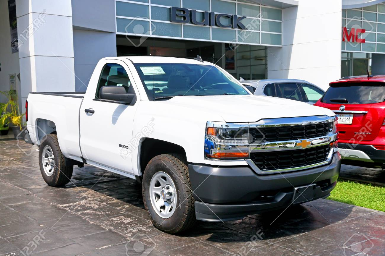 Acapulco Mexico May 29 2017 Brand New Pickup Truck Chevrolet Stock Photo Picture And Royalty Free Image Image 92967854