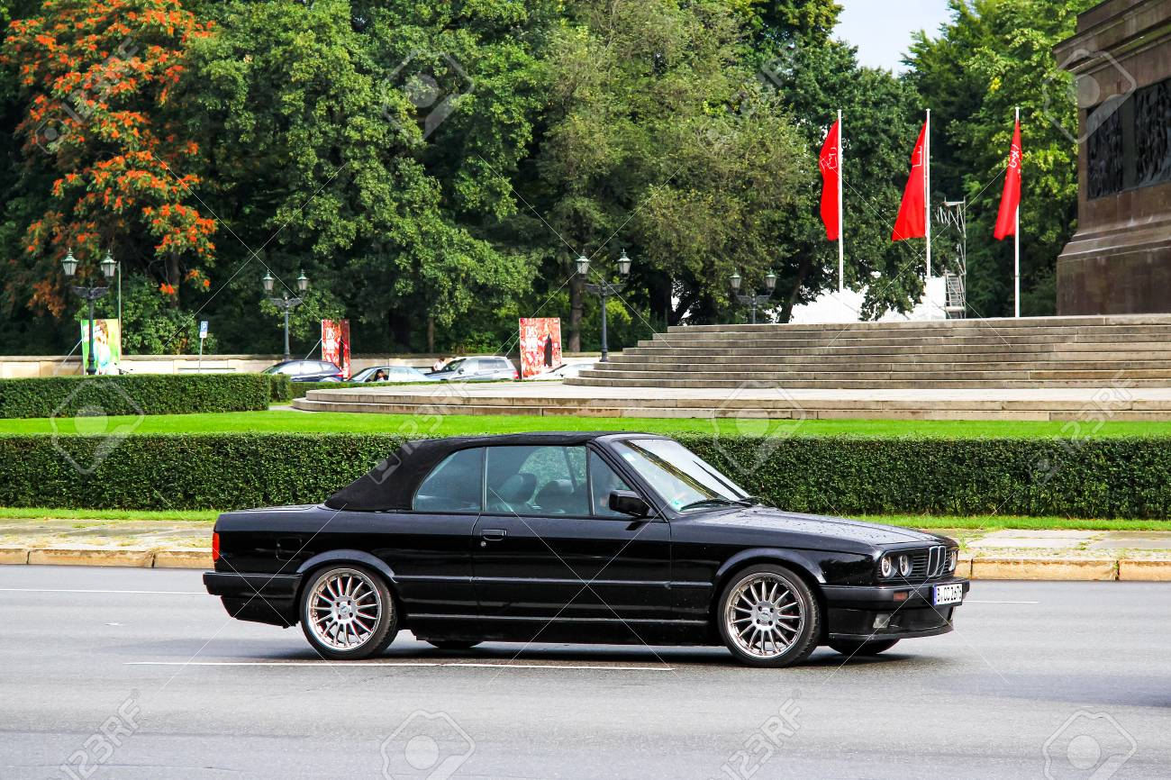 Berlin Germany September 10 2013 Black Car Bmw E30 3 Series Stock Photo Picture And Royalty Free Image Image 104800257