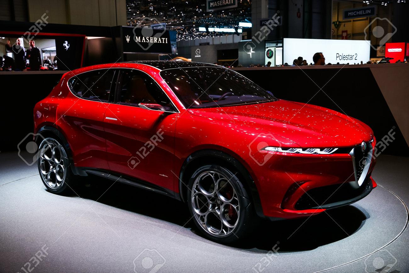Alfa Romeo Concept Car >> Geneva Switzerland March 10 2019 Concept Car Alfa Romeo