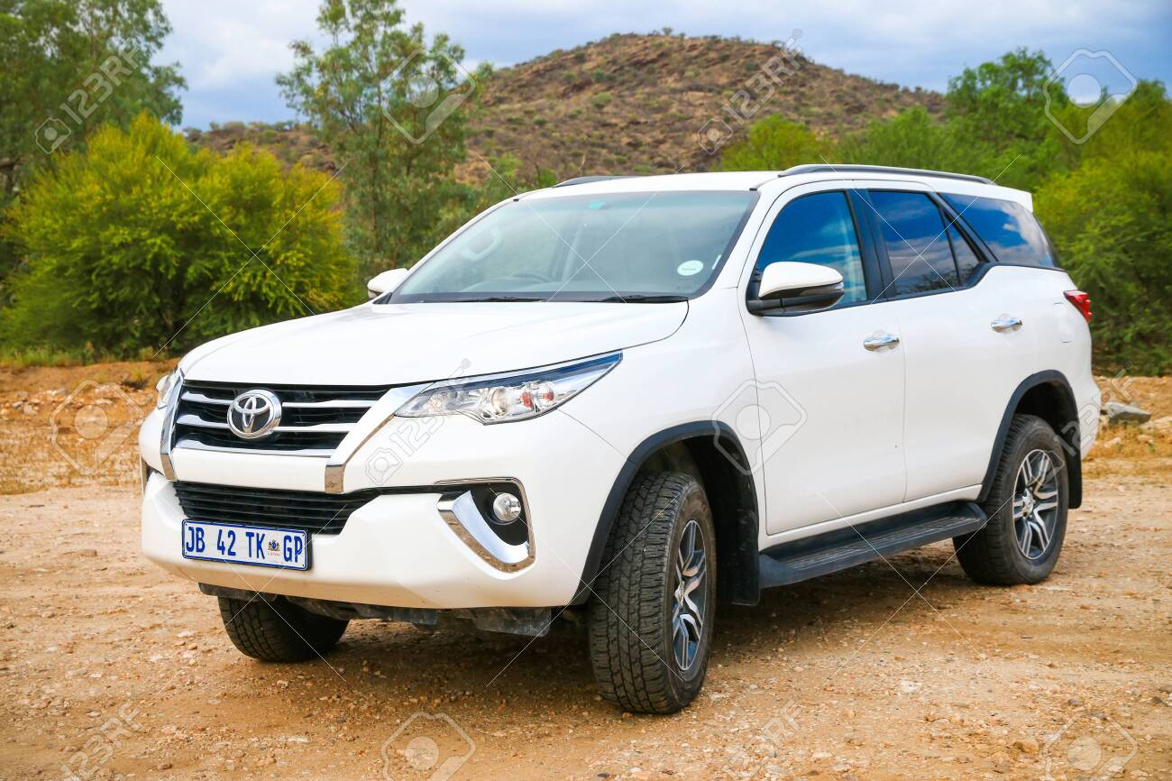 Windhoek Namibia February 5 2020 White Off Road Car Toyota Stock Photo Picture And Royalty Free Image Image 142310186