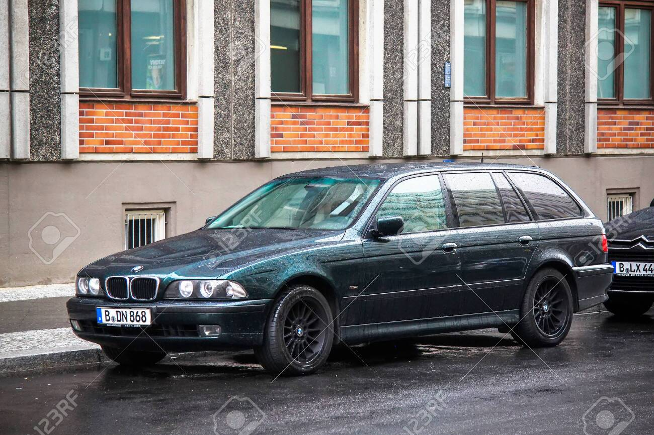 Berlin Germany September 11 2013 Luxury Estate Car Bmw 5 Series Stock Photo Picture And Royalty Free Image Image 142310347