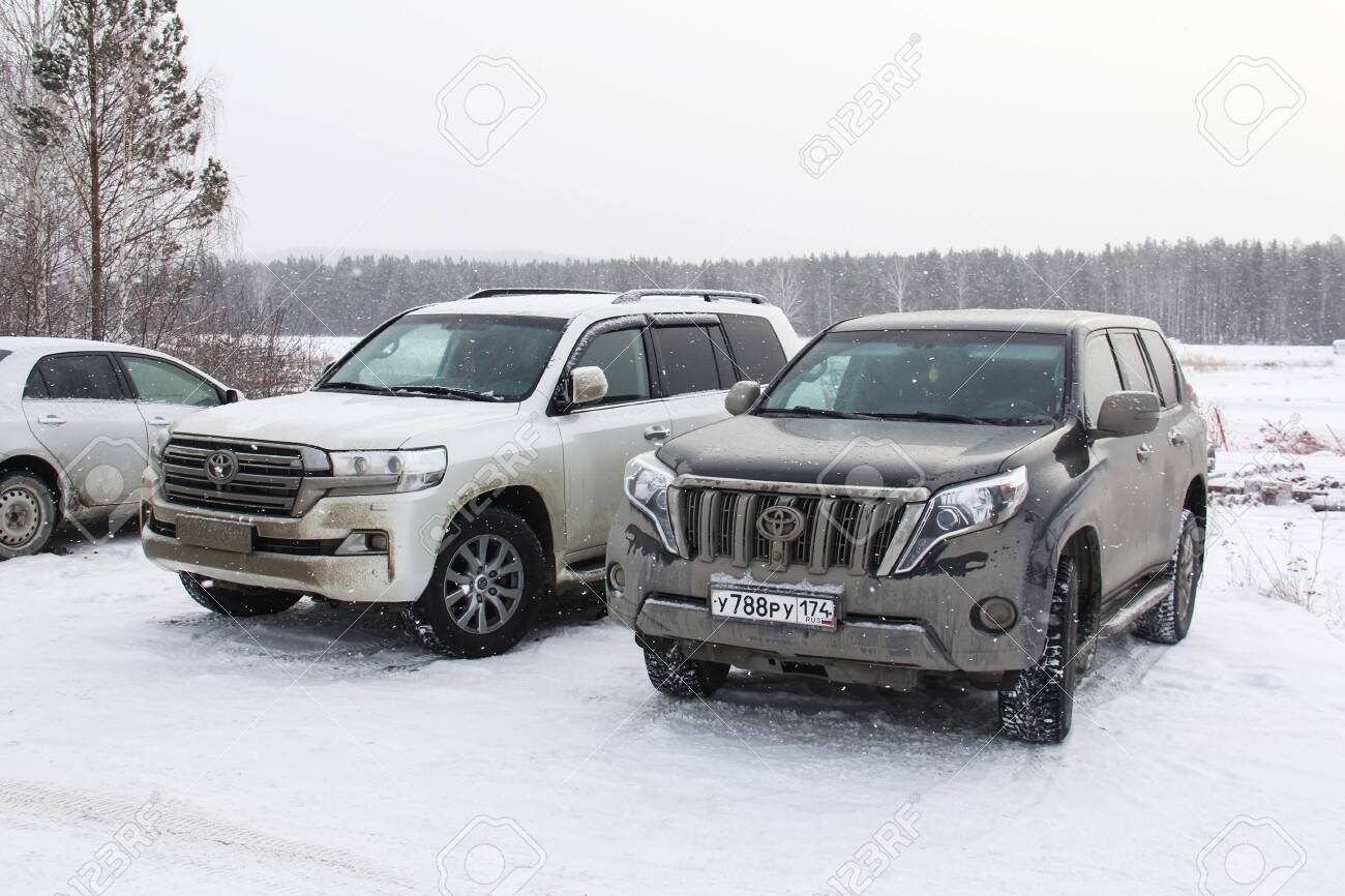 Miass Russia February 8 2020 Offroad Cars Toyota Land Cruiser Stock Photo Picture And Royalty Free Image Image 145827972