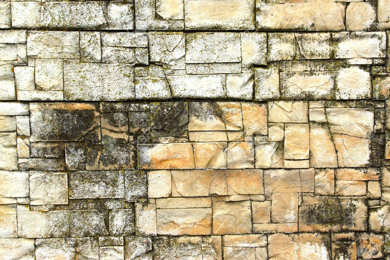 Decorative Natural Stone Pattern Background Stock Photo, Picture And ...