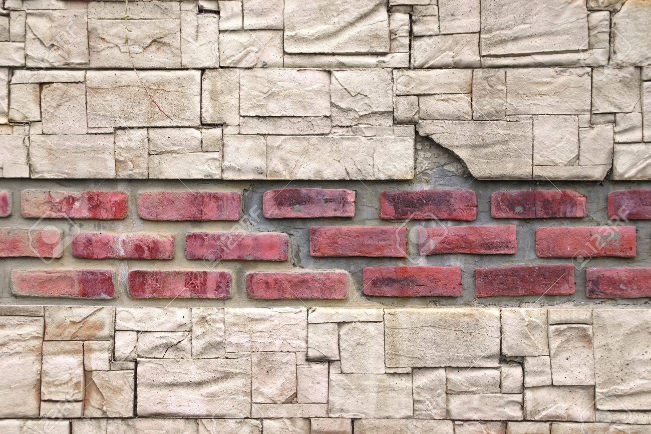 modern stone wall like as antique background and texture for